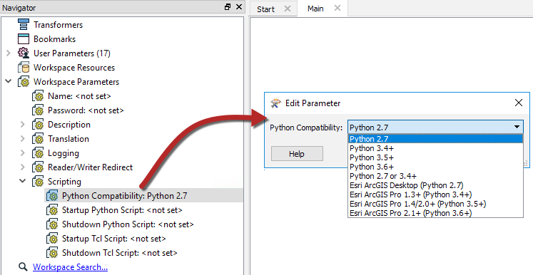 Using Python with FME Server · FME Server Administration