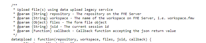 9 8 Exercise 18- Data Uploads · FME Server REST API Training
